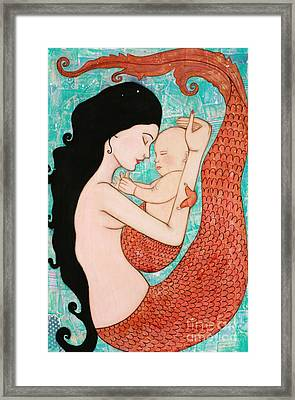 Wrapped In Love Framed Print by Natalie Briney