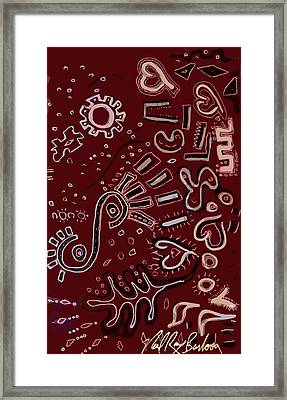 Wrapping Paper Framed Print by Neal Barbosa