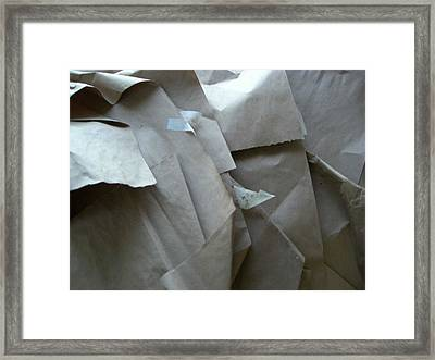Wrappings Framed Print by Nancy Ferrier