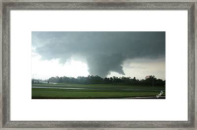 Wrath Framed Print by Rick Lipscomb