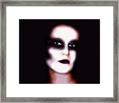 Wrath Framed Print by Tabitha Longbrake
