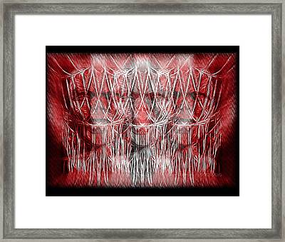 Wrath Threefold Framed Print by Mimulux patricia no No