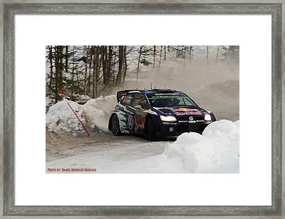 WRC Framed Print