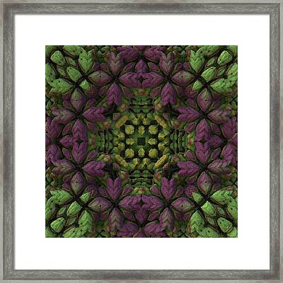 Framed Print featuring the digital art Wreath by Lyle Hatch