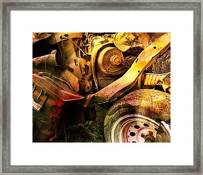 Wreck Close Up Framed Print
