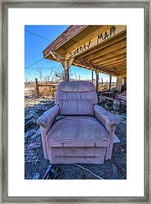 Wreckcliner 2 Framed Print by Peter Tellone