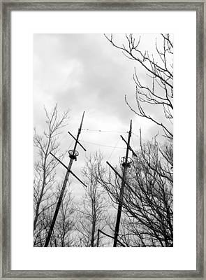Framed Print featuring the photograph Wrecked by Valentino Visentini
