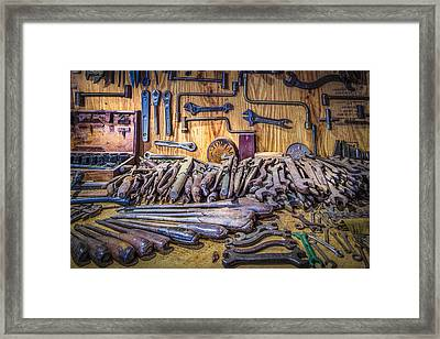 Wrenches Galore Framed Print