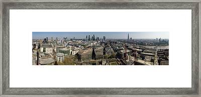 Wrens View Framed Print