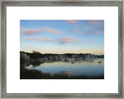 Wrentham Sunset Framed Print by JAMART Photography