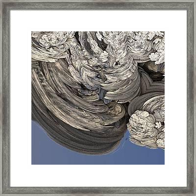 Wrestling With Angels #2 Framed Print by David Sulik