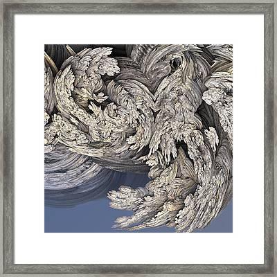 Wrestling With Angels #3 Framed Print by David Sulik