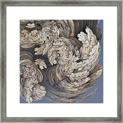 Wrestling With Angels #1 Framed Print by David Sulik