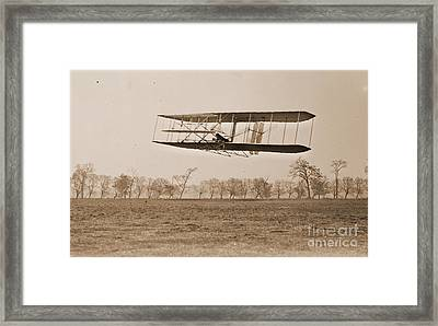 Wright Brothers Flight 85 Framed Print