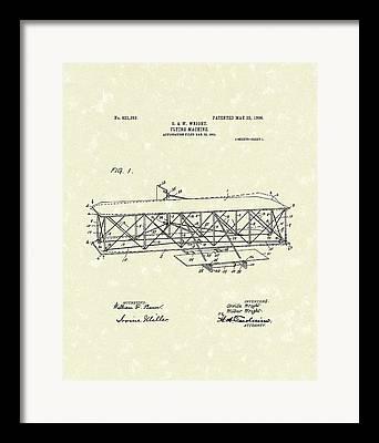 Patent Artwork Framed Prints