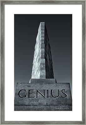 Wright Brothers Genius 6544 Framed Print
