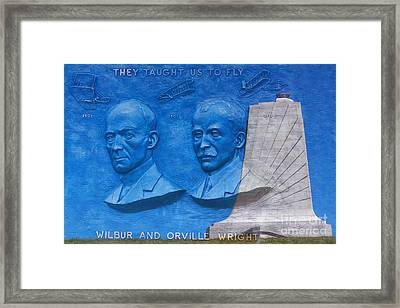 Wright Brothers Memorial Framed Print by Randy Steele
