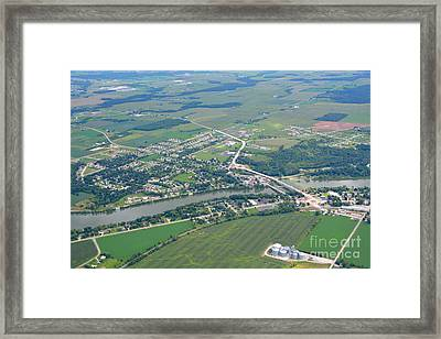 Wrightstown Wisconsin Framed Print by Bill Lang