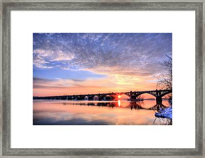 Wrightsville To Columbia Framed Print by JC Findley
