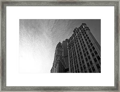 Framed Print featuring the photograph Wrigley Building II by Jane Melgaard