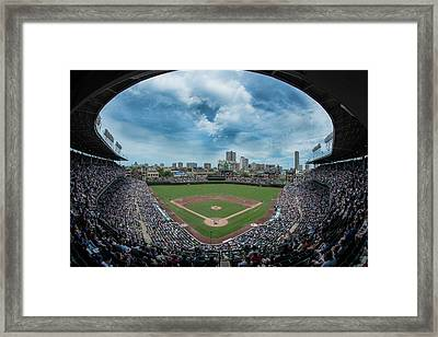 Wrigley Color Framed Print