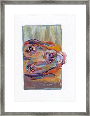 Wrigley Framed Print by Kimberly Santini