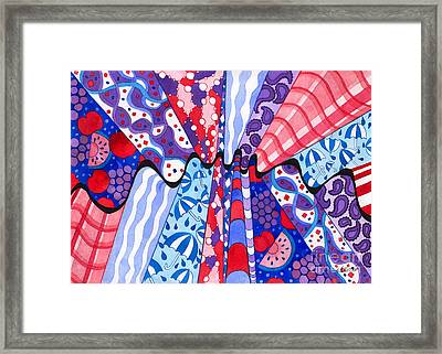 Wrinkle In The Fabrics Of Space Time Framed Print