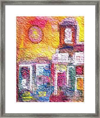 Wrinkled Tissue Paper Framed Print by Mimo Krouzian