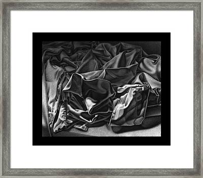 Wrinkles Framed Print by David Fedan