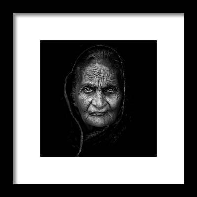 Indian Portraits Framed Prints