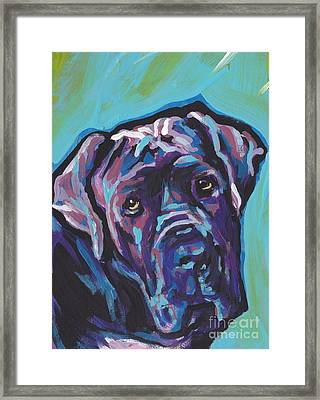 Wrinkly Neo Framed Print by Lea S