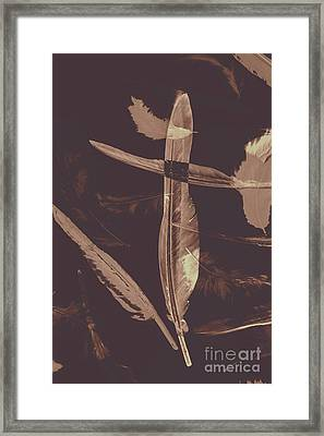 Writers Guild Abstract Framed Print by Jorgo Photography - Wall Art Gallery
