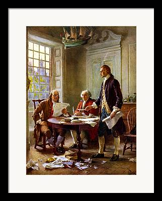 1776 Framed Prints
