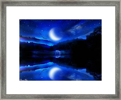 Written In The Stars Framed Print