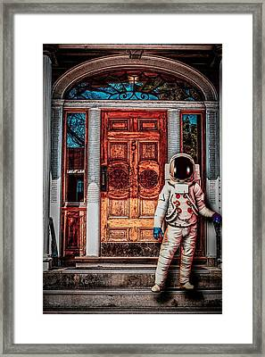Wrong Address Framed Print by Bob Orsillo