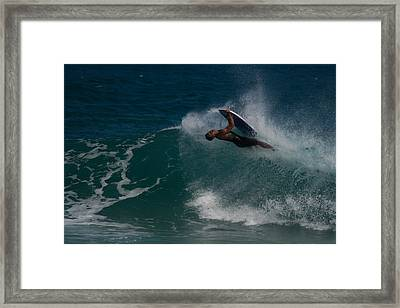 Wrong Side Up Framed Print by Roger Mullenhour