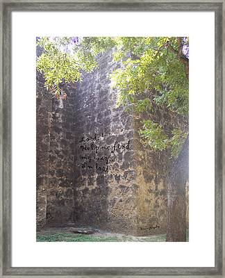 Wrong Turn Framed Print by Diana Gonzalez