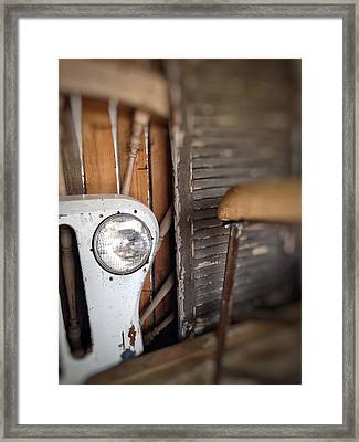 Framed Print featuring the photograph Wrong Turn by Olivier Calas