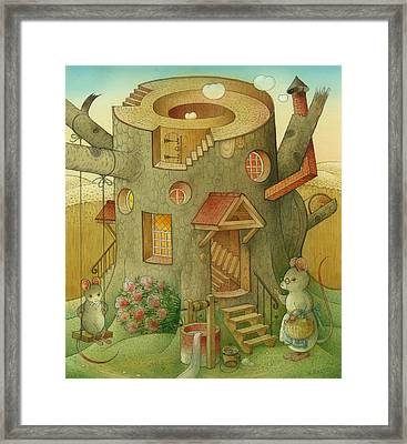 Wrong World Framed Print by Kestutis Kasparavicius