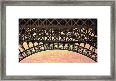 Wrought Iron Art Framed Print by JAMART Photography