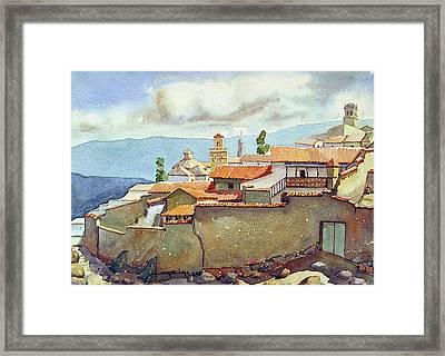 Ws1955bo001 Landscape Of Potosi 13.75x9.75 Framed Print