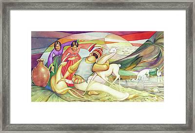 Ws1955bo003 Vicunas Of Bolivia Potosi 17.5x8.75 Framed Print by Alfredo Da Silva