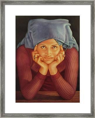 Ws1979ar001 Sylvia Buenos Aires Framed Print