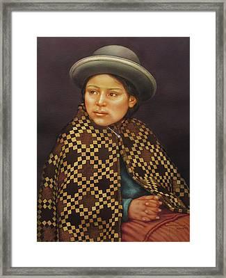 Ws1979bo013 Eloisa La Paz  14x20 Framed Print