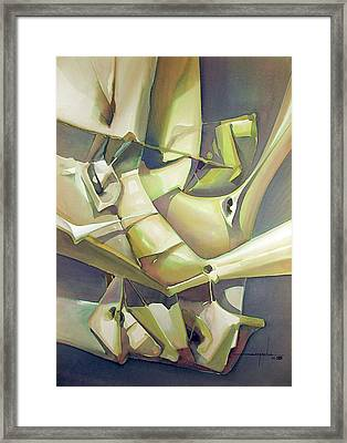Ws1988dc003 Belleza En Tension Framed Print by Alfredo Da Silva
