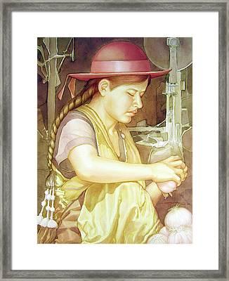 Ws1995dc004 Ivon 15x20 Framed Print by Alfredo Da Silva