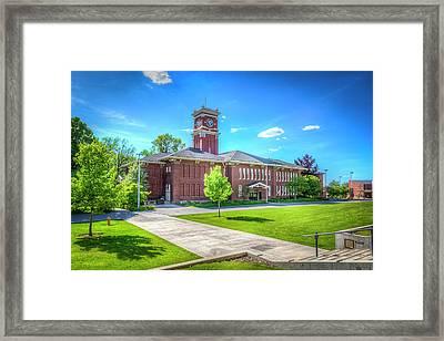 Wsu Bryan Hall Framed Print