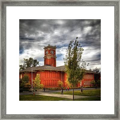 Wsu's Bryan Hall - Pullman Washington Framed Print