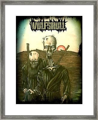 Wulfskull #1 Framed Print