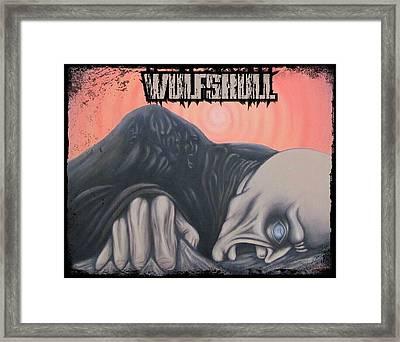 Wulfskull#4 Framed Print